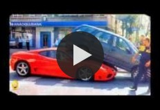 Compilation Of Funny Car Crash